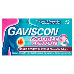 Gaviscon Double Action Mixed Berry 12S