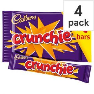 Cadbury Crunchie Chocolate Multipack 4 X32g