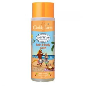 Childs Farm Hair and Body Wash 250ml Watermelon Pineapple