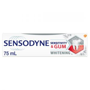 Sensodyne Sensitivity & Gum Whitening Toothpaste 75ml