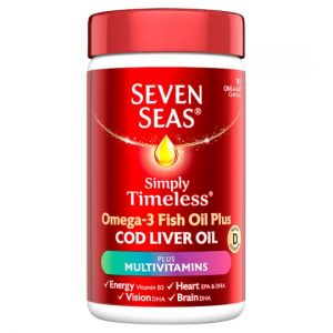 Seven Seas Cod Liver Oil Plus A-Z Multi Vitamins 90 Capsules