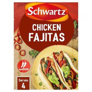 Schwartz Authentic Chicken Fajitas 35g