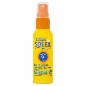 Tesco Soleil Sun Spray Spf30 Mini 60ml