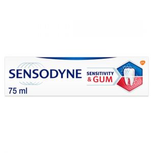 Sensodyne Sensitivity & Gum Fluoride Toothpaste 75ml
