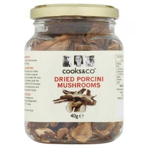 Cooks and Co Dried Porcini Mushrooms 40g