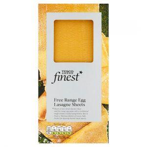 Tesco Finest Egg Lasagne Pasta 250g