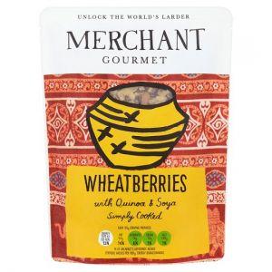 Merchant Gourmet Wheatberrie With Quinoa&Soya 250g
