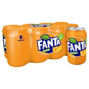 Fanta Orange 8X 330ml