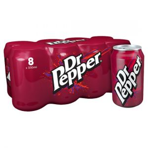 Dr Pepper 8X330ml
