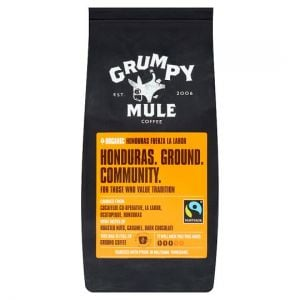 Grumpy Mule Organic Honduras Ground Coffee 227g