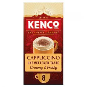 Kenco Unsweetened Cappuccino 8 Sachets 112g