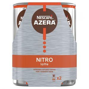 Nescafe Azera Nitro Latte 2X192ml