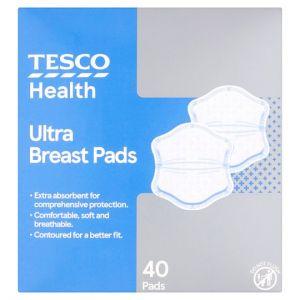 Tesco Ultra Slim Breast Pad 40 Pack