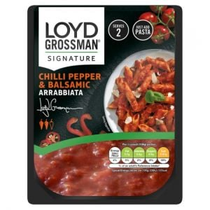 Loyd Grossman Chilli Pepper & Balsamic Pasta Sauce 275g