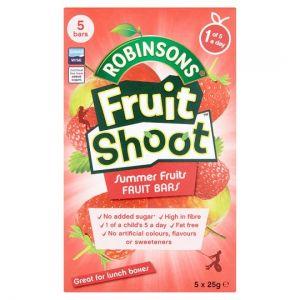 Fruit Shoot Summer Fruits Fruit Bars 5X25g