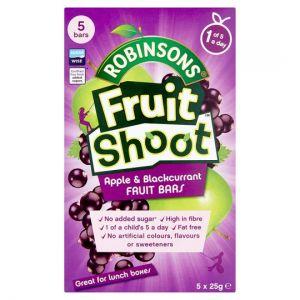 Fruit Shoot Apple and Blackcurrant Fruit Bars 5X25g