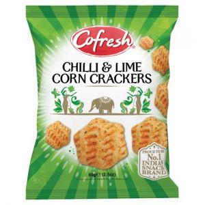 Cofresh Chilli & Lime Corn Crackers 60g