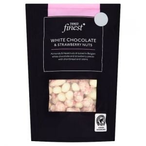 Tesco Finest White Chocolate and Strawberry Nuts 165g