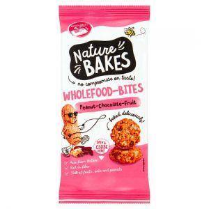Nature Bakes Wholefood Bites Peanut Chocolate 150g