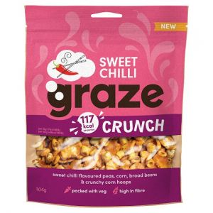 Graze Sweet Chilli Crunch Sharing Bag 104g