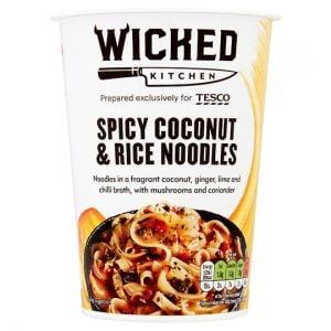Wicked Kitchen Spicy Coconut & Rice Noodles 72g