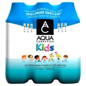 Aqua Carpatica Kids Natural Still Water 6X250ml