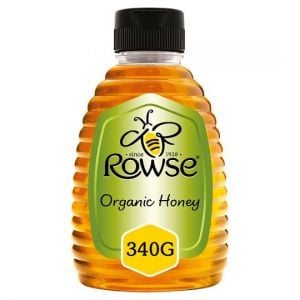 Rowse Squeezy Organic Honey 340g
