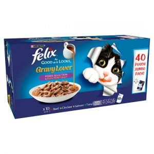 Felix As Good As It Looks Gravy Lover Mixed Selection 40*100g