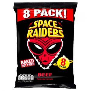 Space Raiders Beef 8 Pack x 11.8g