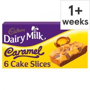 Cadbury Dairy Milk Caramel Slice 6 Pack