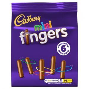 Cadbury Mini Fingers Snack Pack 19.3g