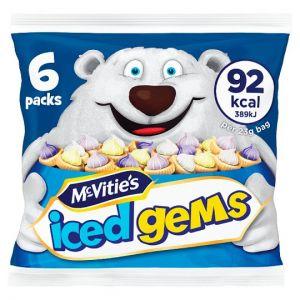 Mcvities Iced Gems 6X23g