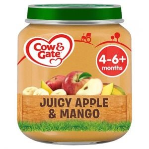 Cow & Gate Stage 1 Apple & Mango 125g Jar