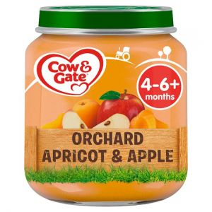 Cow & Gate Stage 1 Apricot & Apple 125g Jar