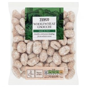 Tesco Whole Wheat Gnocchi 500g