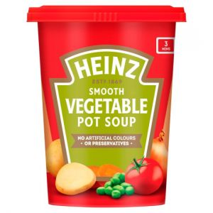 Heinz Smooth Vegetable Pot Soup 490g