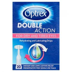 Optrex Double Action Eye Drops 20X0.5ml
