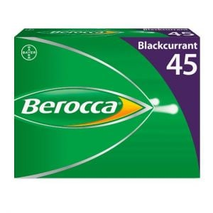 Berocca Blackcurrant Effervescent 45S