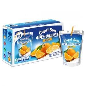 Capri Sun No Added Sugar Orange 8 X 200ml