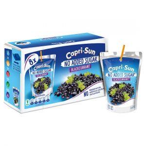 Capri Sun No Added Sugar Blackcurrant 8X200ml