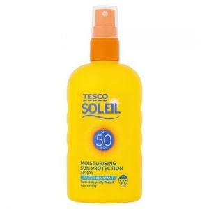 Tesco Soleil Sun Protect Spray Spf 50 200ml