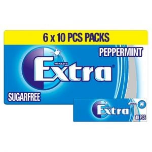 Wrigley's Extra Peppermint 6X10 Pieces 84g