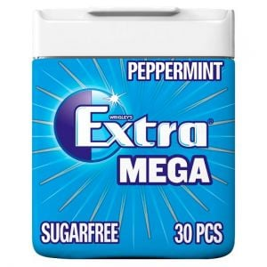 Wrigley's Extra Mega Peppermint Sugar Free 30 Pack 66g