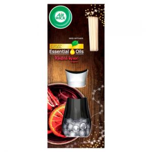 Airwick Essential Oils Mulled Wine Reed Diffuser 30ml
