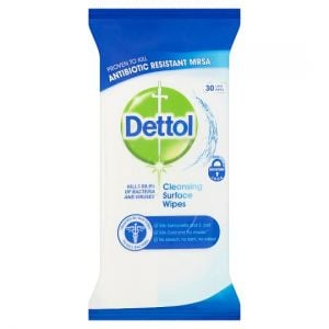 Dettol Surface Cleanser Wipes 30S