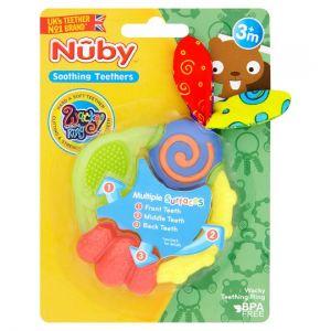 Nuby Wacky Teething Ring Teether