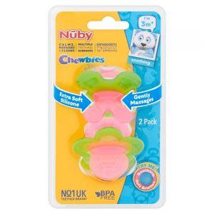 Nuby Chewbies Twinpack