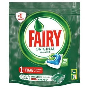 Fairy All In One Dishwasher Original 29 Tablets