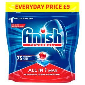 Finish All In 1 Max Original 75 Dishwasher Tab 1200g