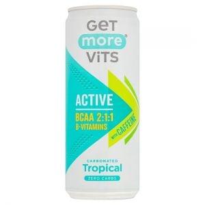 Get More Vitamins BCAA Sparkling Tropical Drink 330ml